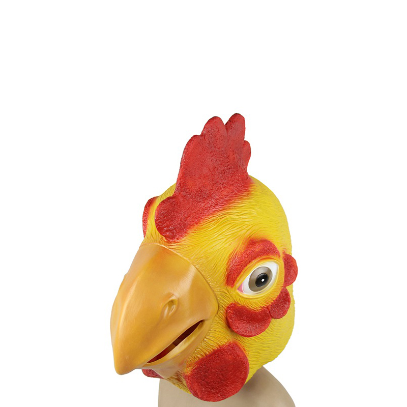 Chicken face mask - photo#21