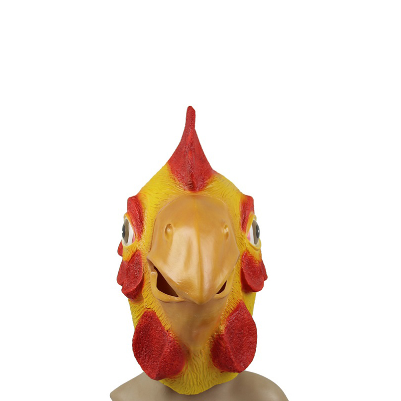 Chicken face mask - photo#22