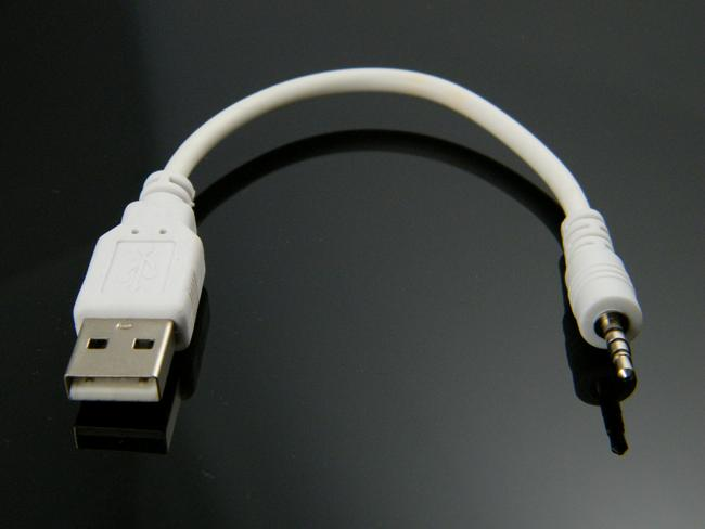 Usb 2 0 3 5mm Male Aux Auxiliary Cable For Apple Iphone 5